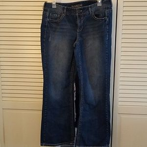 Maurice's flare jeans, sz 18